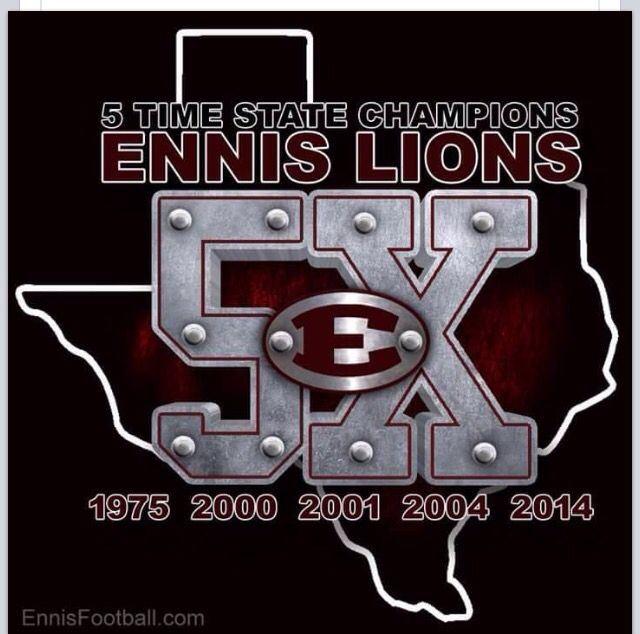 Ennis High School - Boys Varsity Football