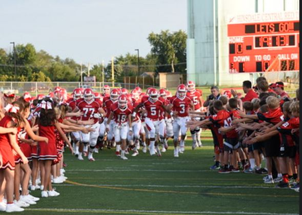 Hinsdale Central High School - Boys Varsity Football