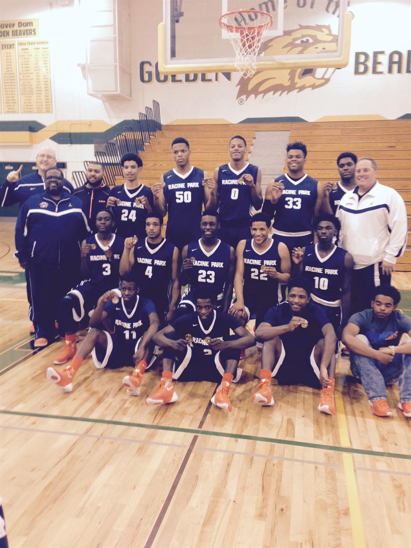 Racine Park Panthers  - Boys' Varsity Basketball