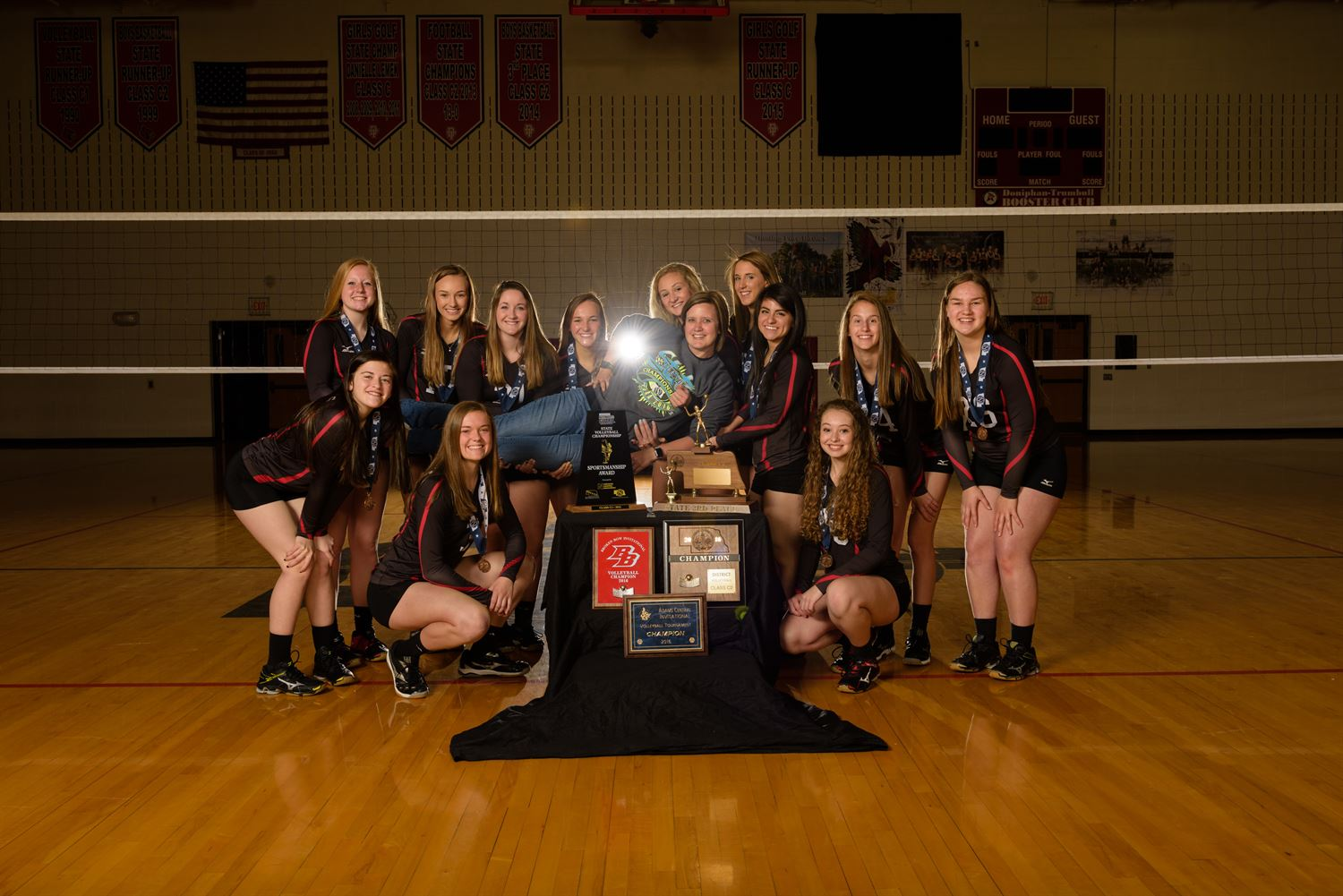 Doniphan-Trumbull High School - Girls Varsity Volleyball