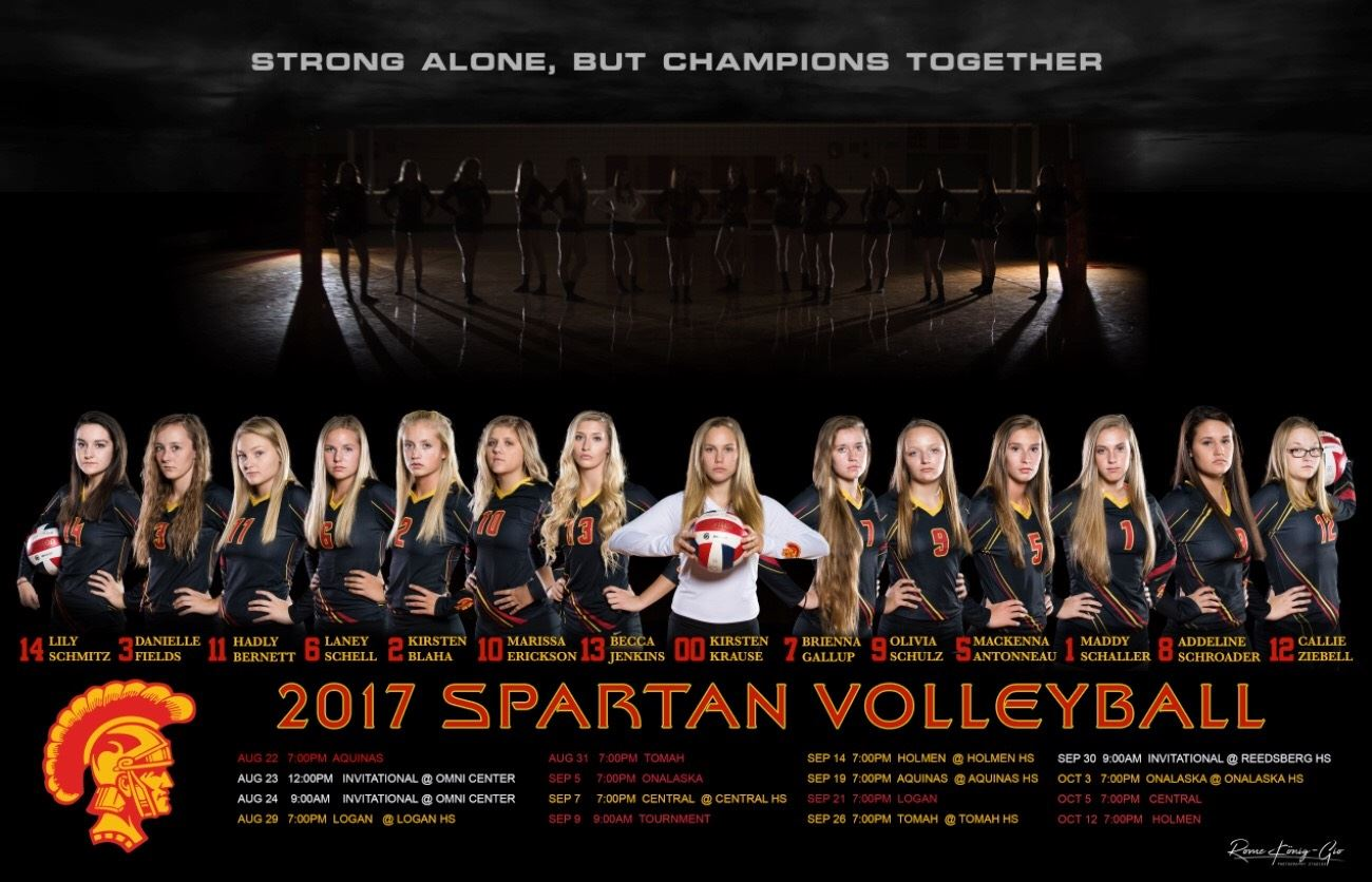 Sparta High School - Varsity Volleyball