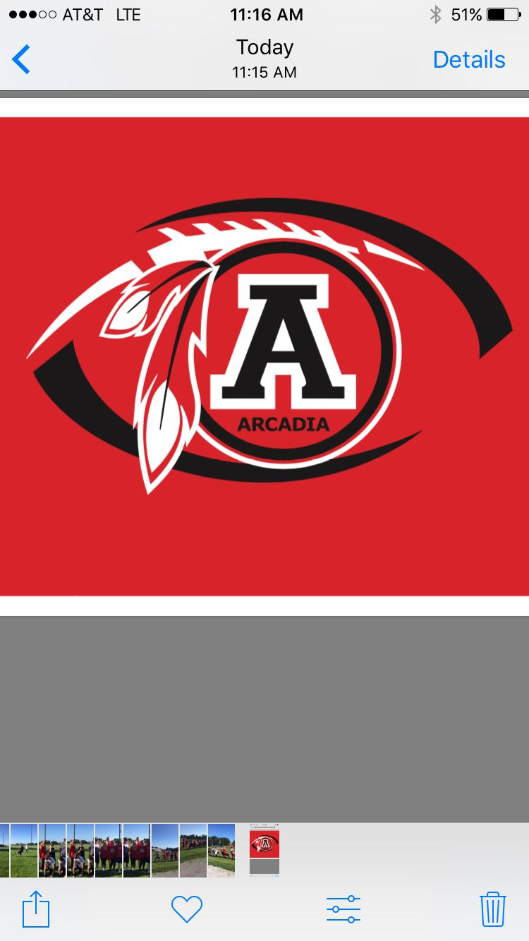 Arcadia High School - Arcadia Redskin Football