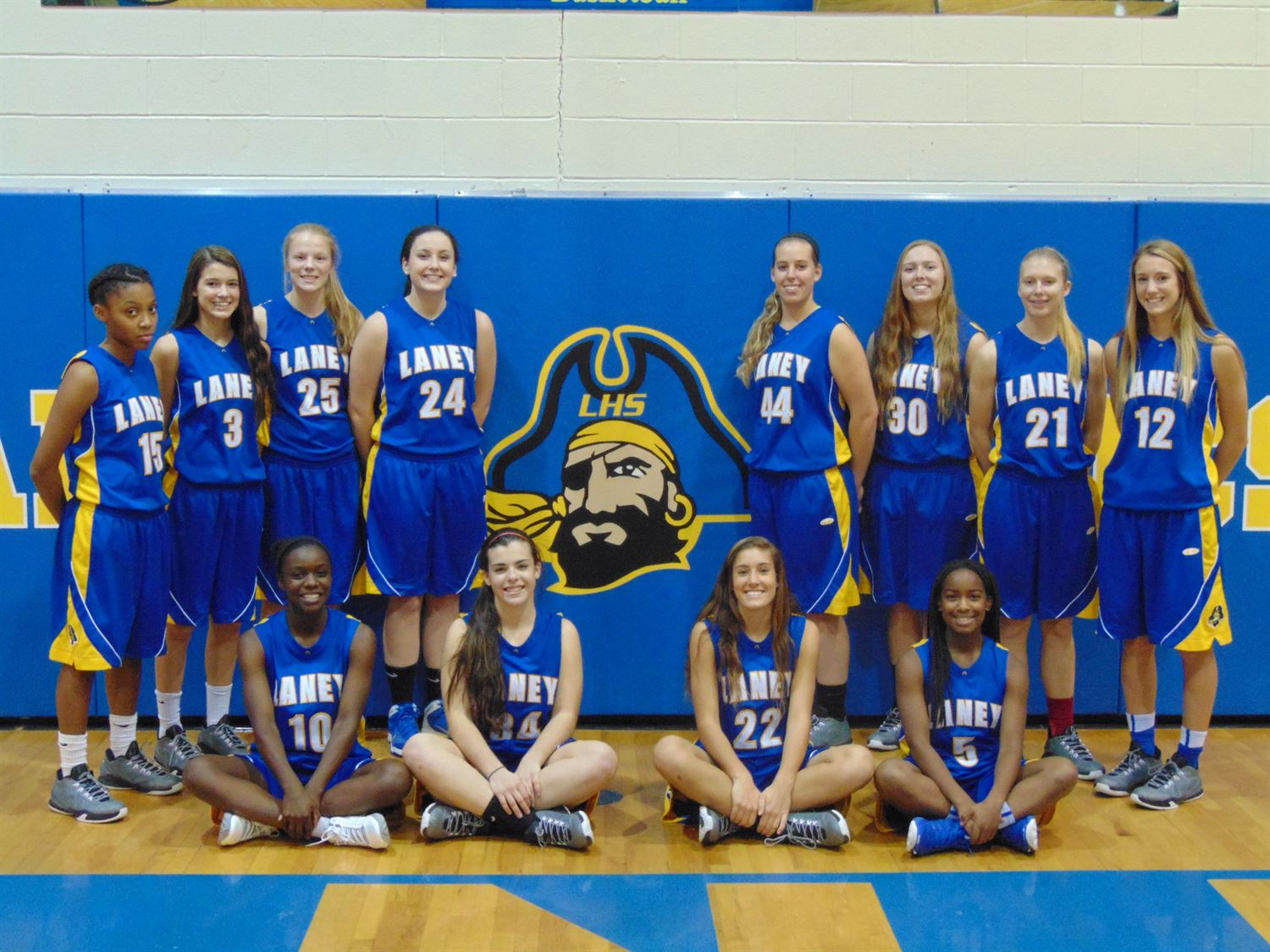 Laney High School - Girls' Varsity Basketball