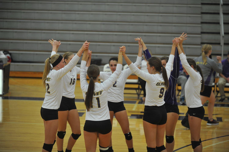 Womens Varsity Volleyball Olivet Nazarene University Bourbonnais Illinois Volleyball Hudl