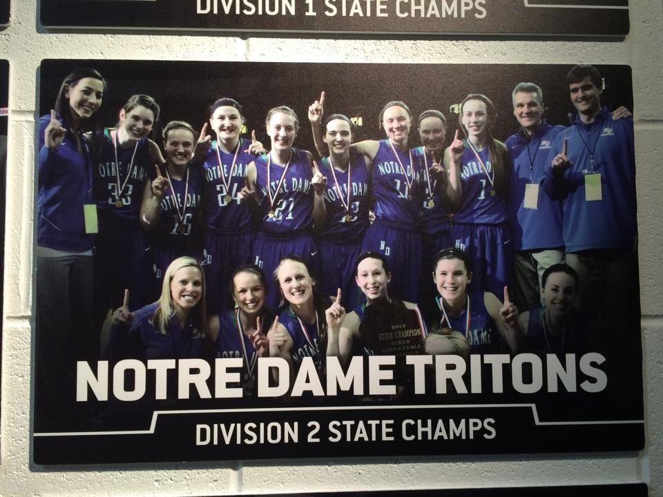 Notre Dame Academy - Varsity Girls' Basketball