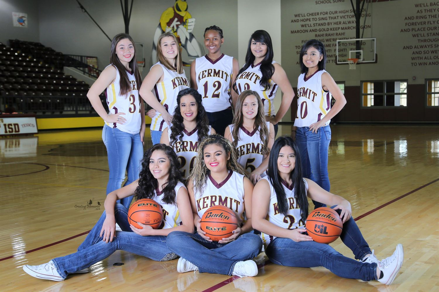 Kermit High School - Girls Varsity Basketball