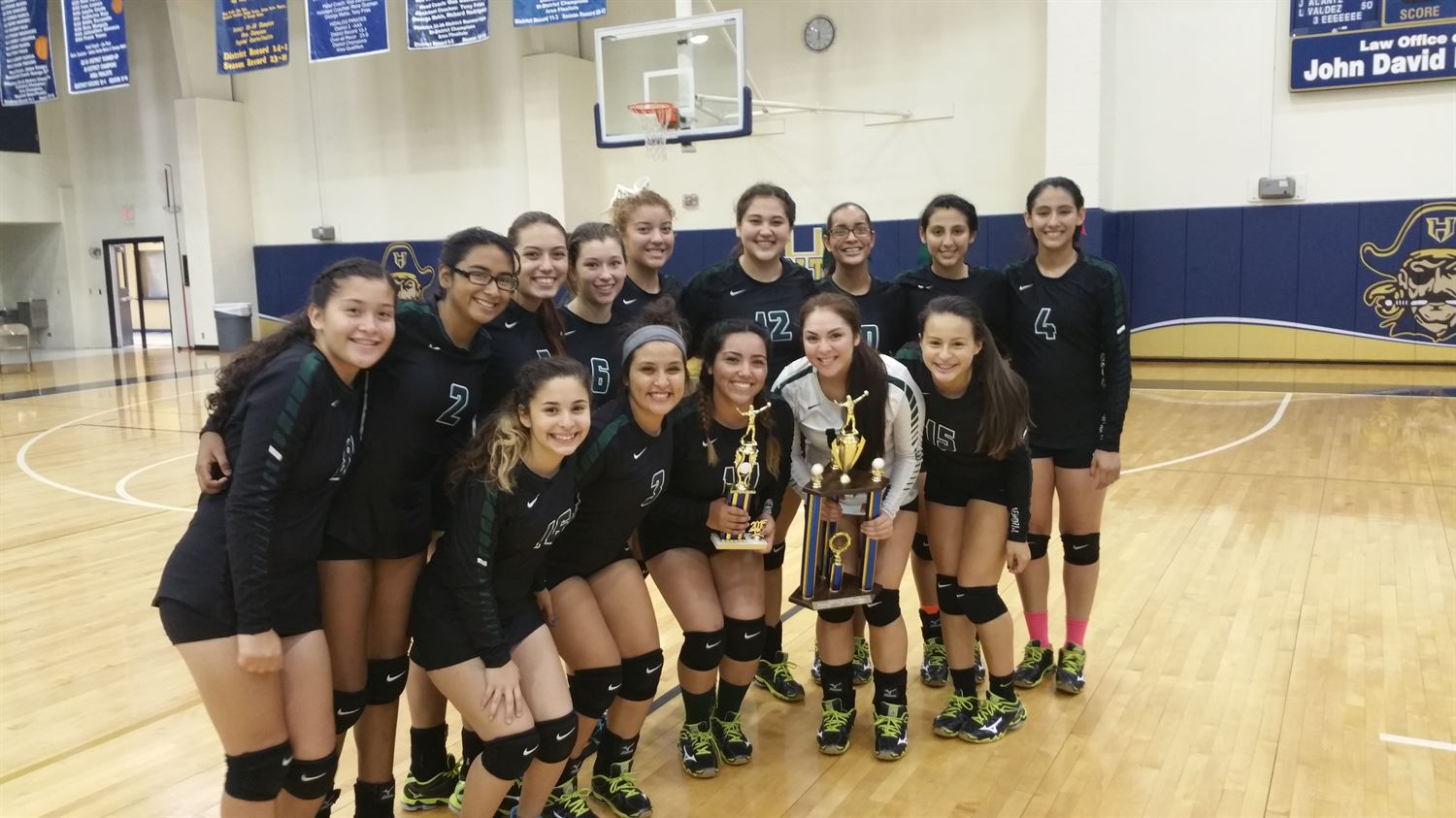Pharr-San Juan-Alamo Memorial High School - Girls Varsity Volleyball