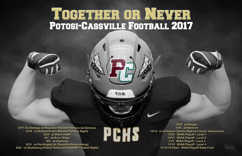 Potosi-Cassville High School - Boys Varsity Football