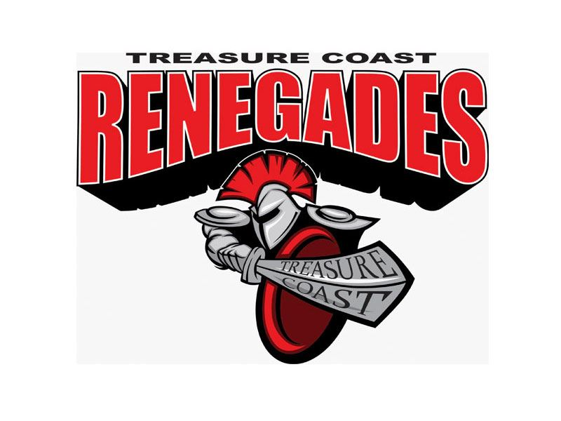 Treasure Coast Renegades - BCYFCA - JUNIOR ROOKIES