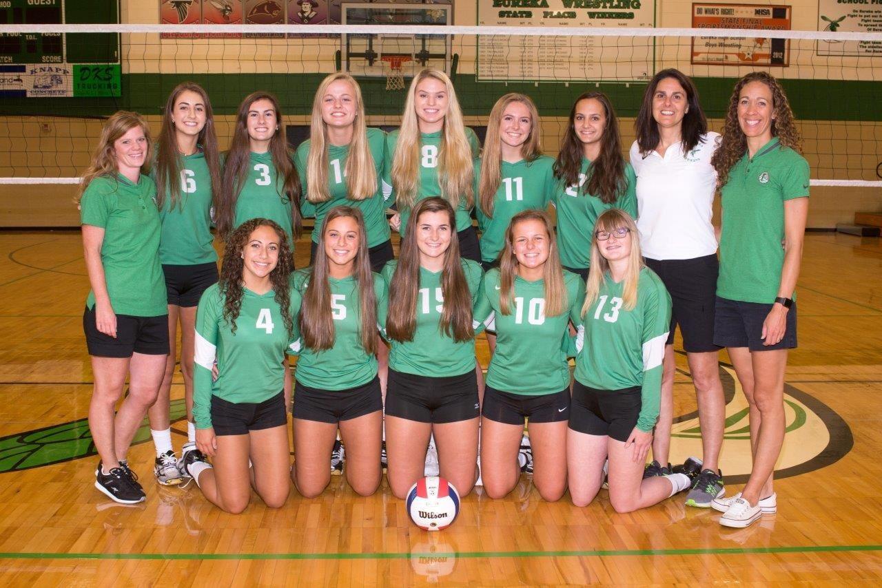 Eureka High School - Eureka Varsity Volleyball