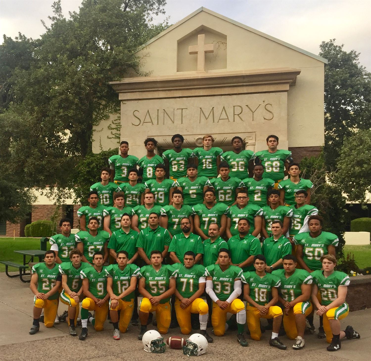 Boys Varsity Football - St. Mary's High School - Phoenix ...