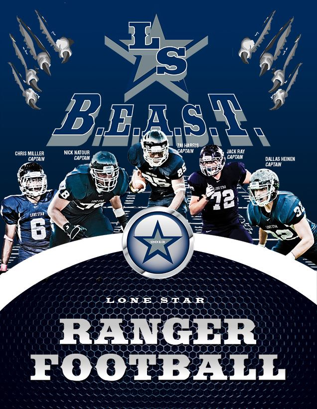 Boys Varsity Football Frisco Lone Star High School Frisco Texas