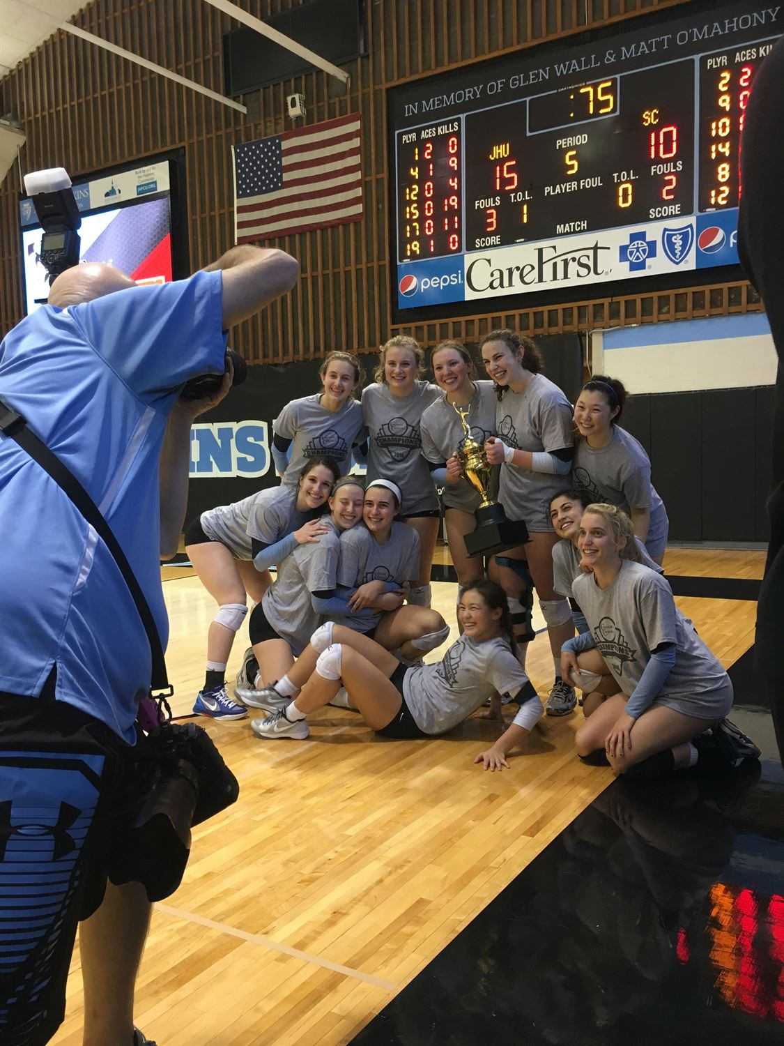 Johns Hopkins University - Johns Hopkins Women's Volleyball