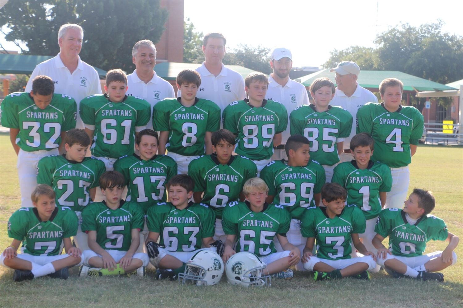 george laughlin Youth Teams - St Rita Spartans