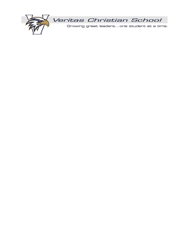 Veritas Christian High School - Veritas Varsity Football