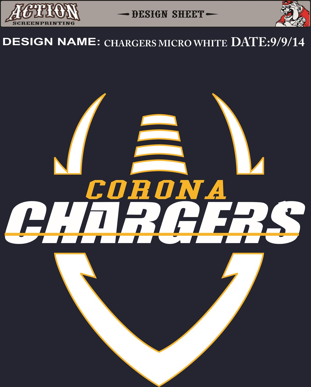 Corona Chargers - Corona Chargers Junior Pee Wee