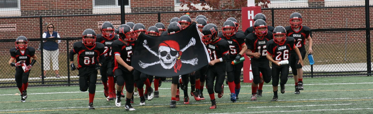 Hingham Youth Football - 4th Grade - Forger