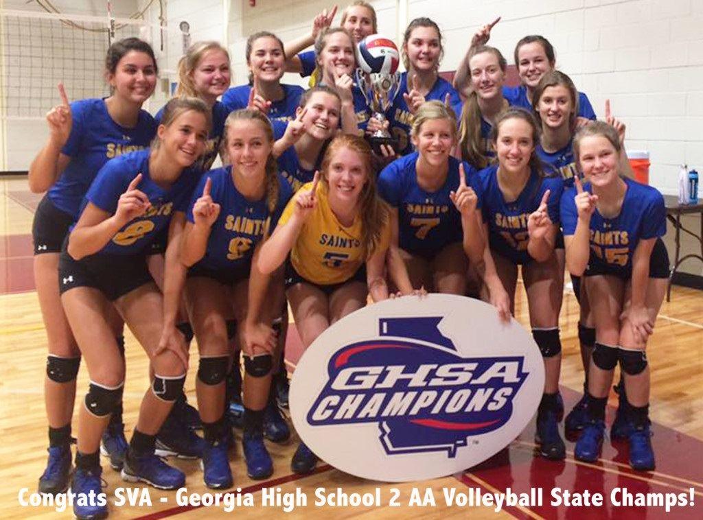 St. Vincent's Academy - SVA Volleyball