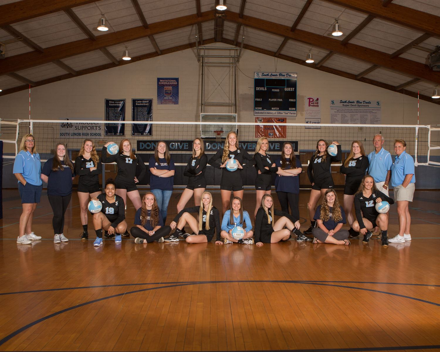South Lenoir High School - Girls Varsity Volleball