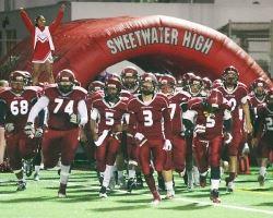 Sweetwater High School - Varsity Football