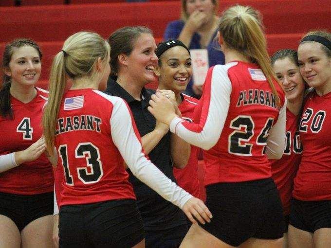 Pleasant High School - Lady Spartans Volleyball
