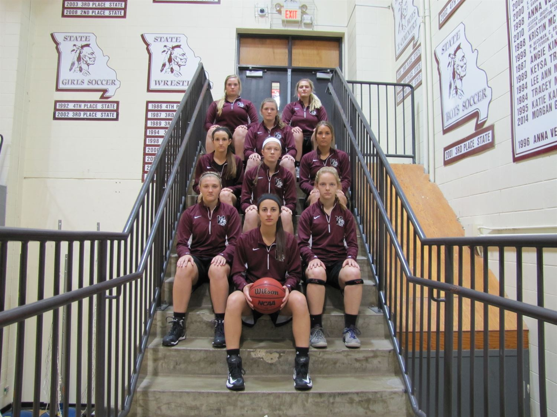 St. Charles West High School - Girls' Varsity Basketball