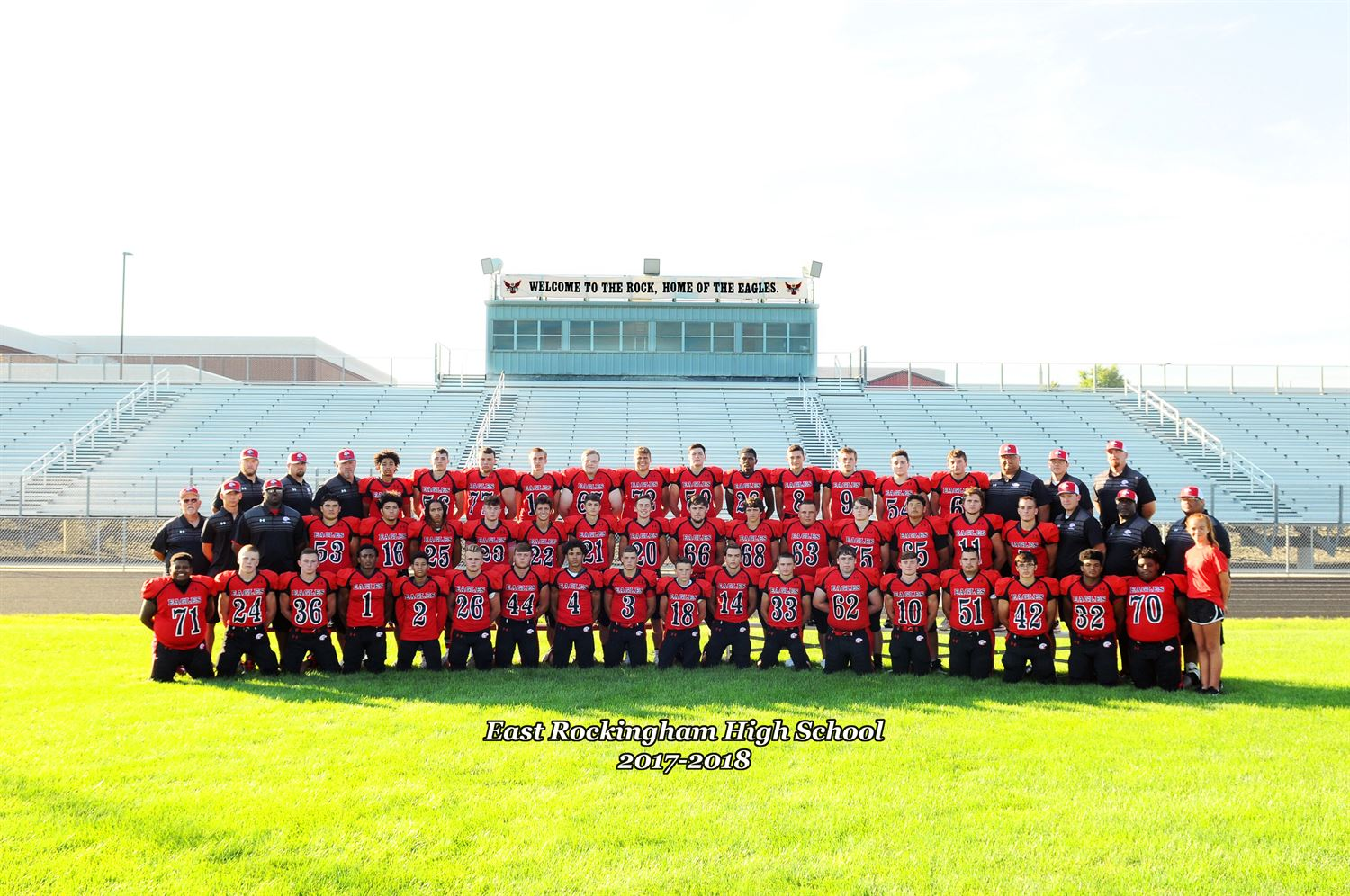 East Rockingham High School - Boys Varsity Football