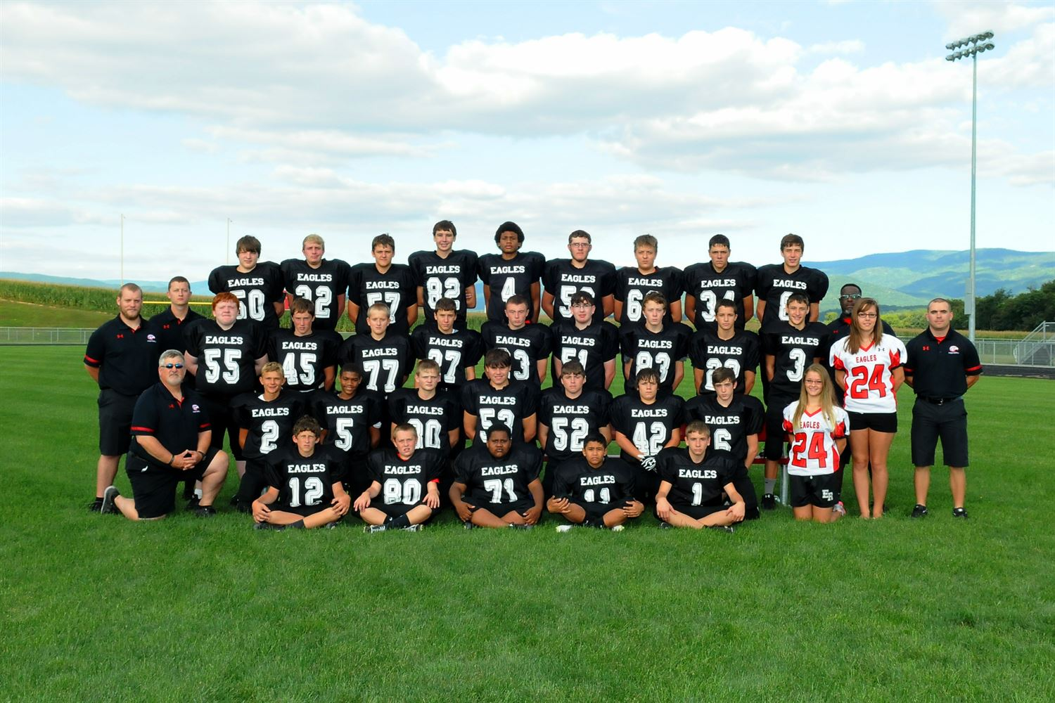 East Rockingham High School - Boys Junior Varsity Football