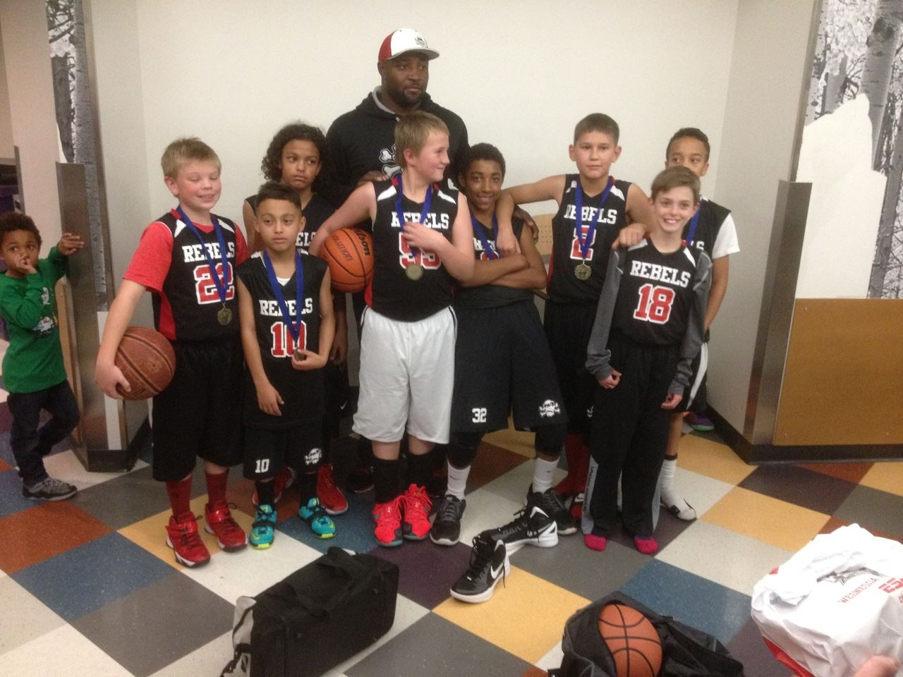 Terrence Robinson Youth Teams - Lil Kings 8th Grade