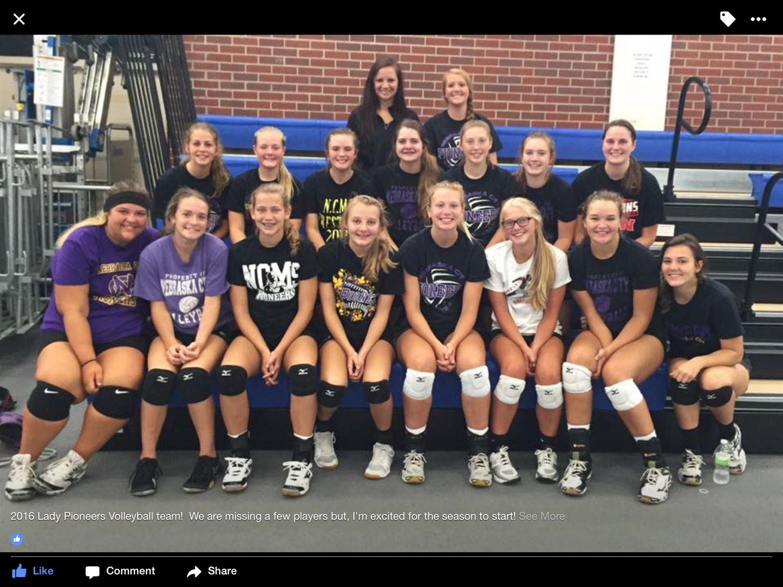 Nebraska City High School - Girls Varsity Volleyball