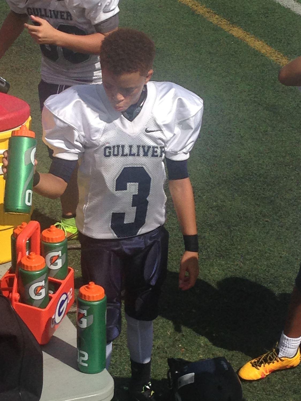 Jaden Outar Middle School Football - Jaden Outar