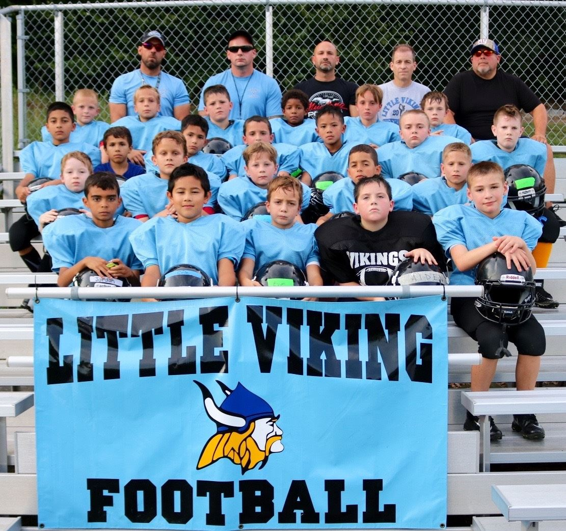 Little Vikings Football - MCYFL - Pre-Clinic 2017