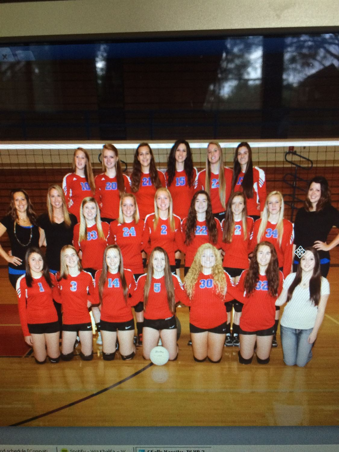 Columbia Falls High School - Girls Varsity Volleyball