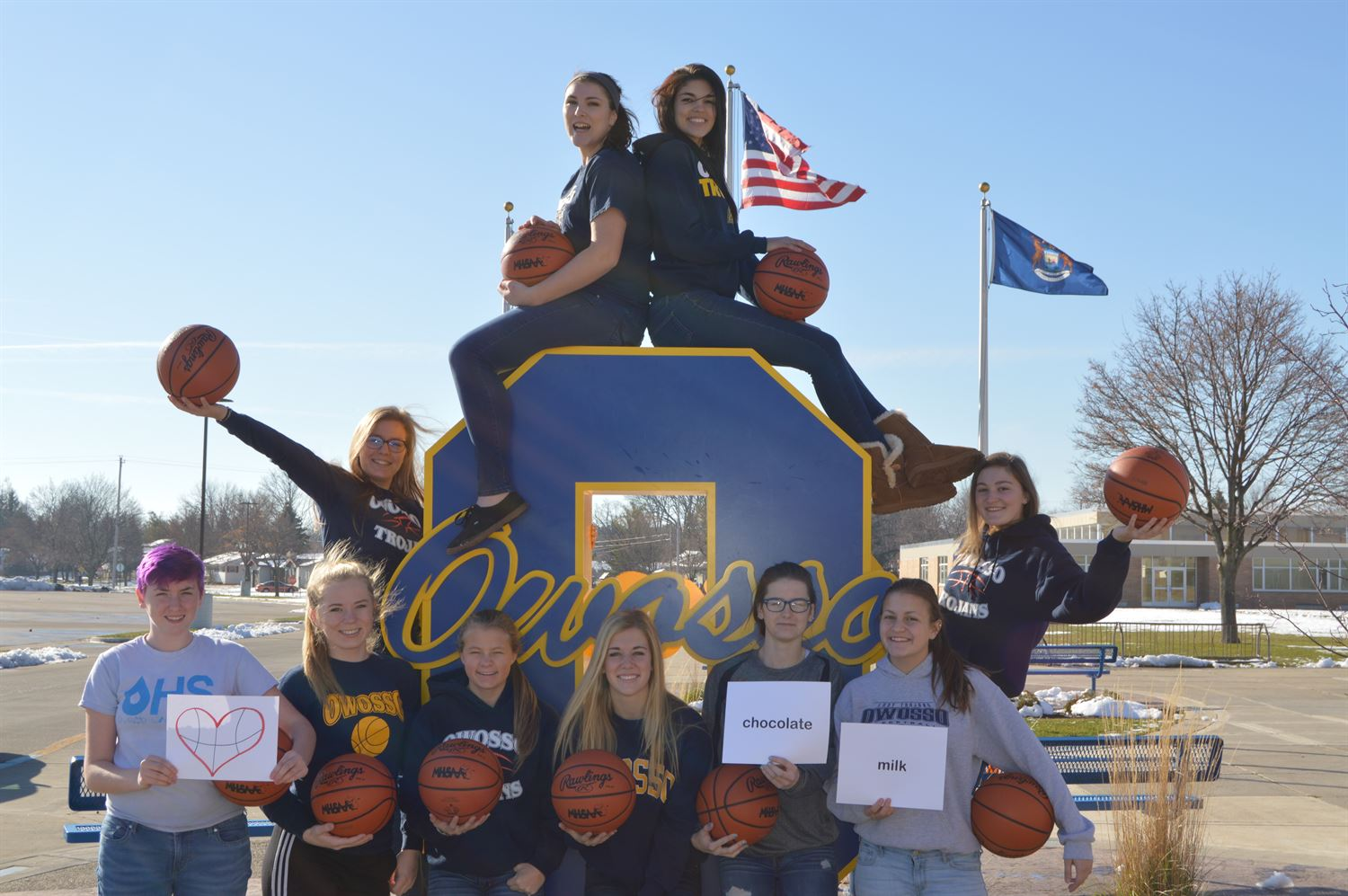 Owosso High School - OHS Girls' Varsity Basketball