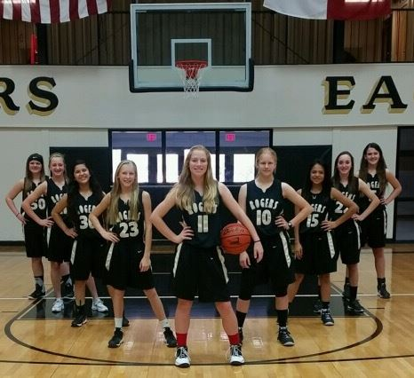 Rogers High School - RMS 8A Girls' Basketball