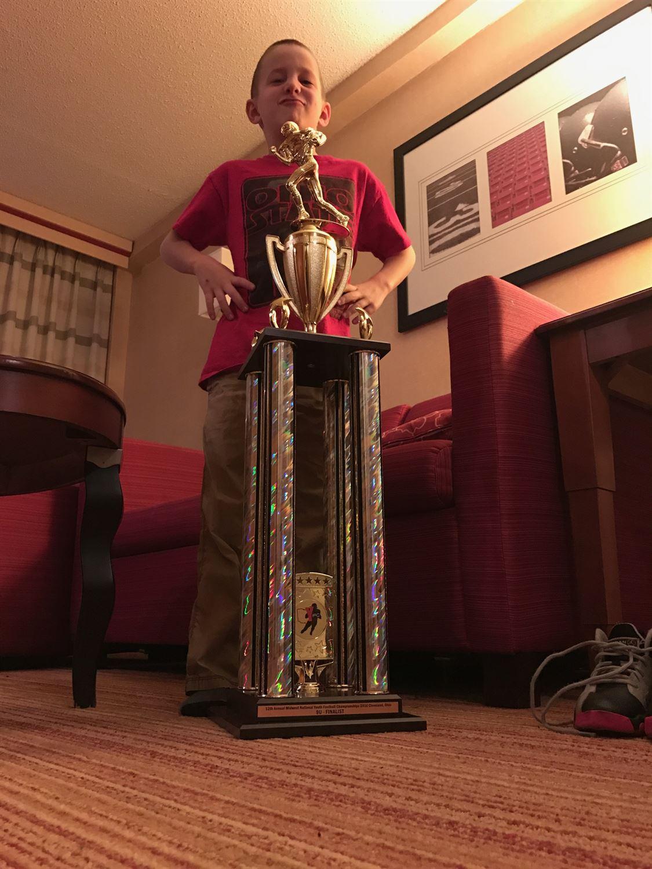 Lake Villa Township Timberwolves -TCYFL - Featherweight Gold BIG 10