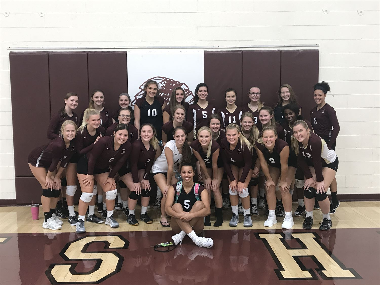 Hays High School - Girls' Varsity Volleyball
