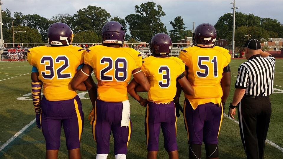 Martin Luther King High School - Martin Luther King Golden Cougars Football