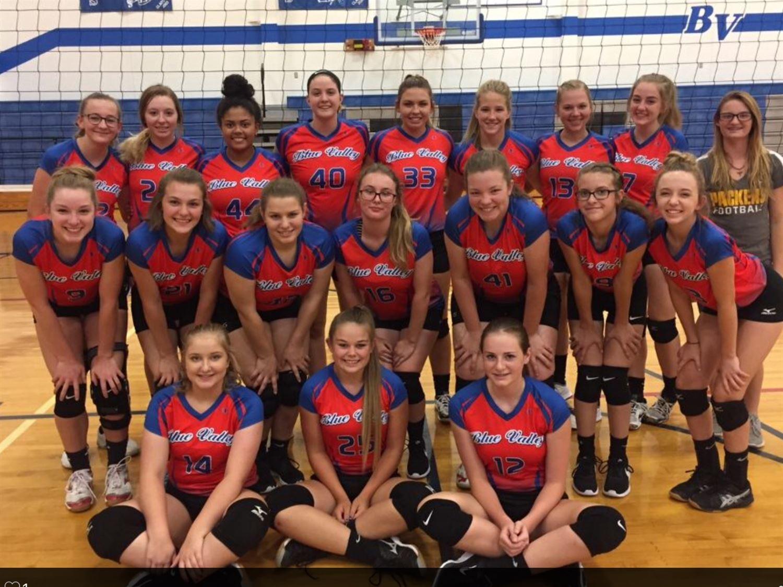 Blue Valley High School - Girls' Varsity Volleyball