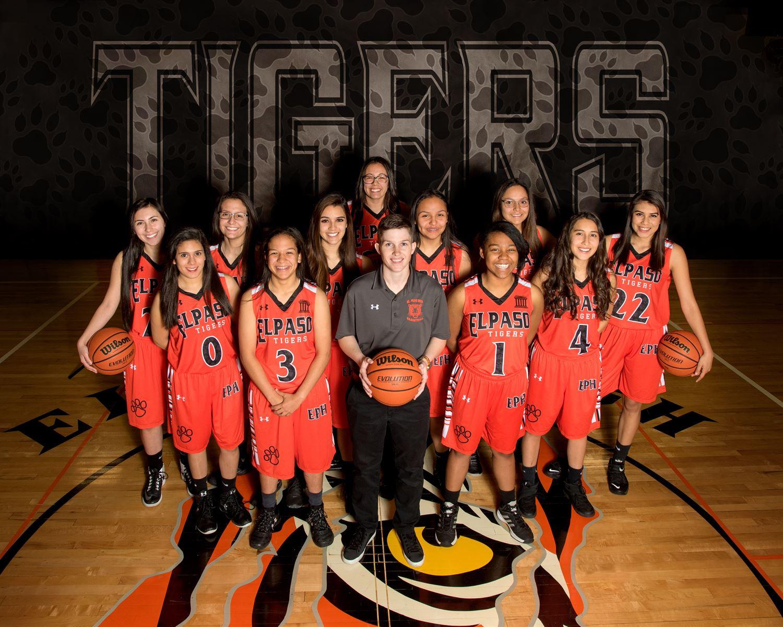 El Paso High School - El Paso Girls Varsity Basketball