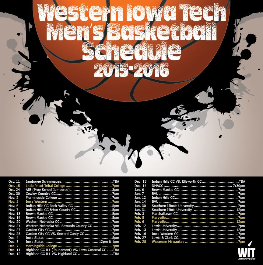 Western Iowa Tech Community College - Men's Varsity Basketball