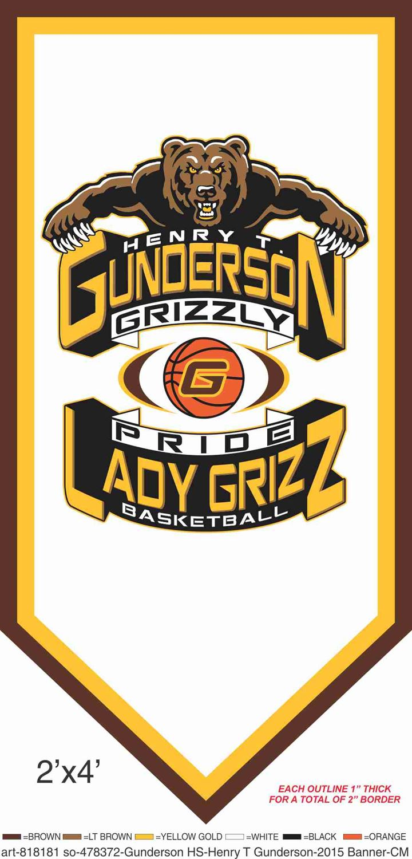 Gunderson High School - Lady Grizz Varsity Basketball