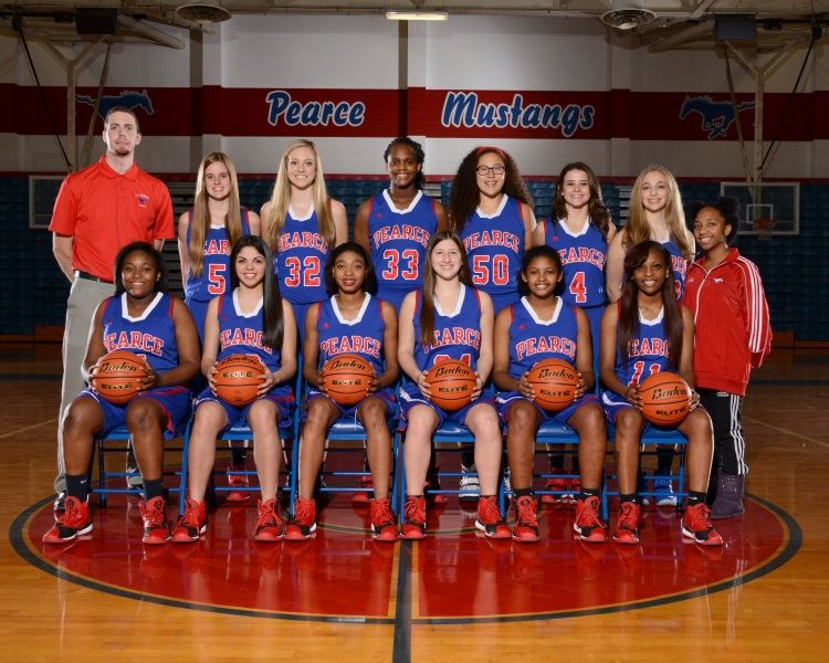 Pearce High School - Girls' Varsity Basketball - New
