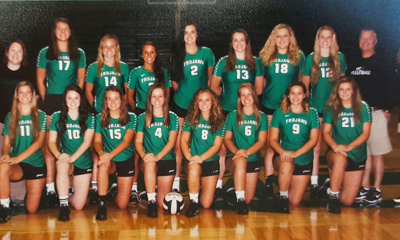 New Castle High School - Girls' Varsity Volleyball