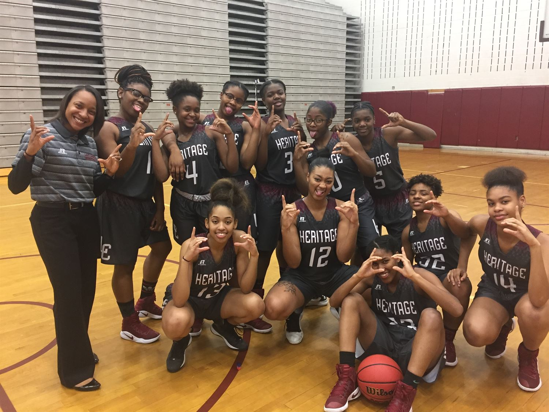 Heritage High School - Girls' Varsity Basketball