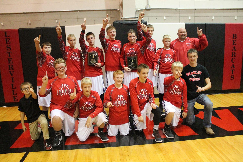 Lesterville High School - Boys' Basketball-JH