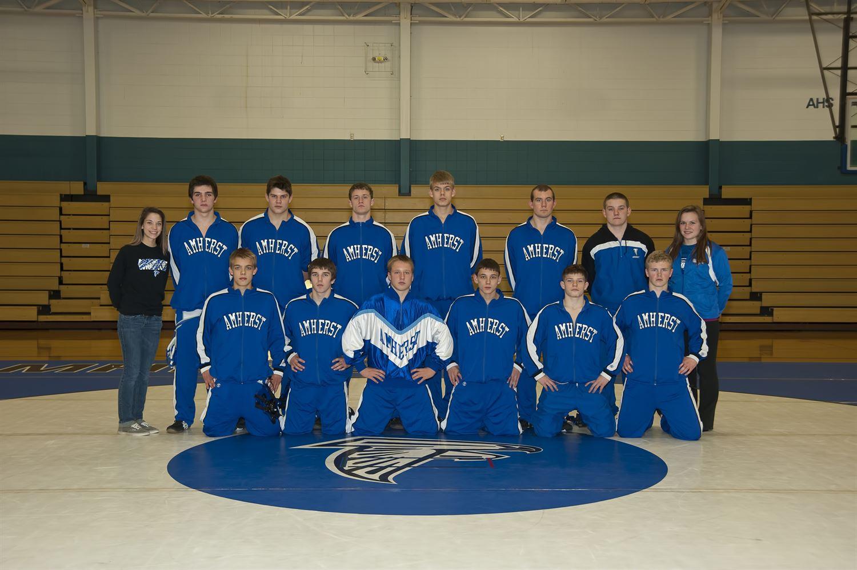 Amherst High School - Boys' Varsity Wrestling