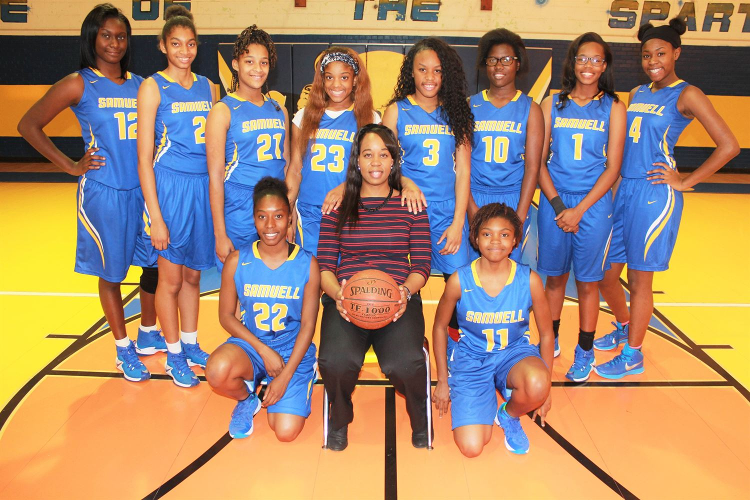 Samuell High School - Girls' Varsity Basketball