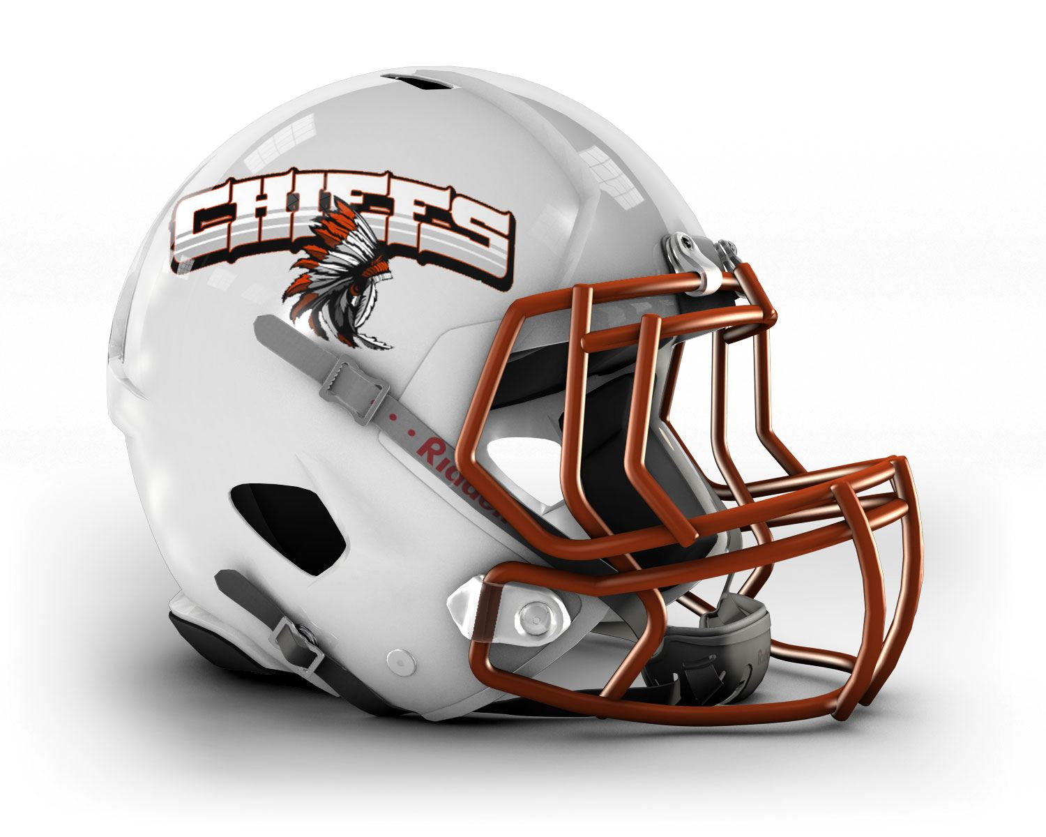 Lake Country Chiefs- WAAYFL - 8th Grade White