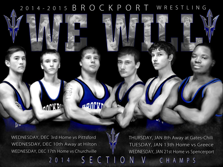 Brockport High School - Boys' Varsity Wrestling
